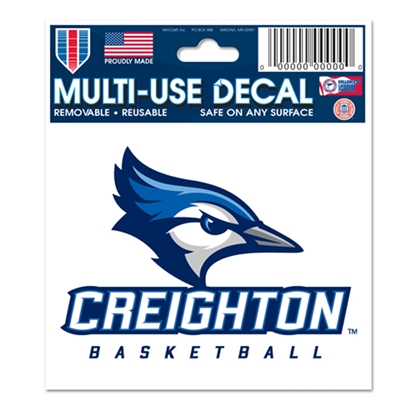"Picture of Creighton BASKETBALL 3"" x 4"" Multi-Use Decal"