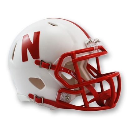 Picture of Nebraska Mini Football Helmet