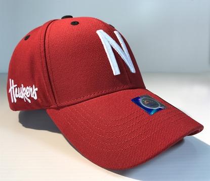 Picture of Nebraska TOW Triple Threat Hat   Adjustable