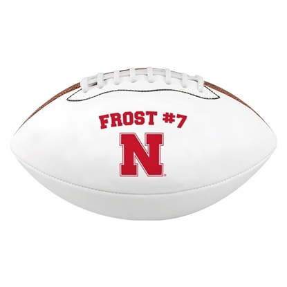 Picture of NU Scott Frost Autograph Football