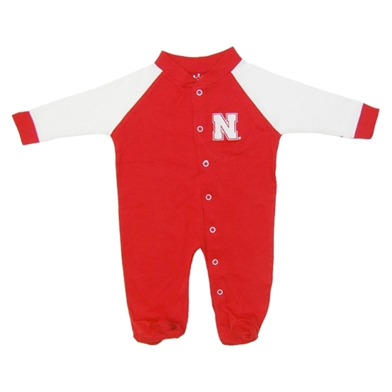Picture of Nebraska Little King® Infant Footed Snap Romper