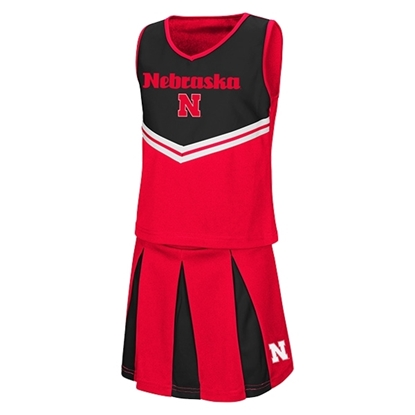 Picture of Nebraska Colosseum® Toddler Girls Cheer Set