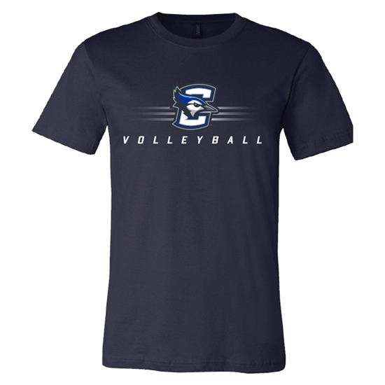 Picture of Creighton Volleyball Soft Cotton Short Sleeve Shirt (CU-182)
