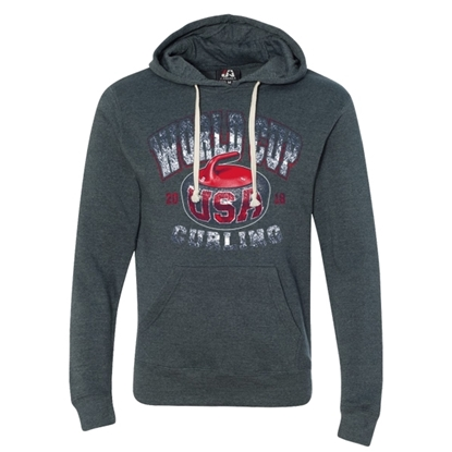 Picture of Curling World Cup Hammer Tri-Blend Hooded Sweatshirt