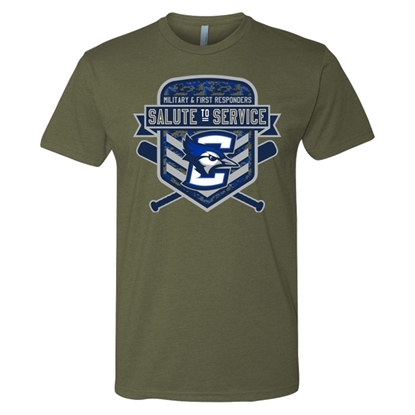 Picture of Creighton Baseball Salute to Service Soft Cotton Short Sleeve Shirt