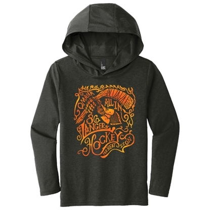 Picture of Omaha Lancers Youth Tri-Blend Long Sleeve Hooded Shirt (LANCERS-223)