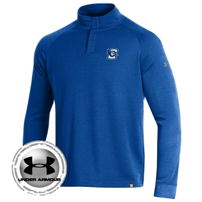 Picture of Creighton Under Armour® Double Knit ¼ Snap Pullover