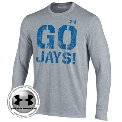 Picture of Creighton Under Armour® Youth Performance Cotton Long Sleeve Shirt