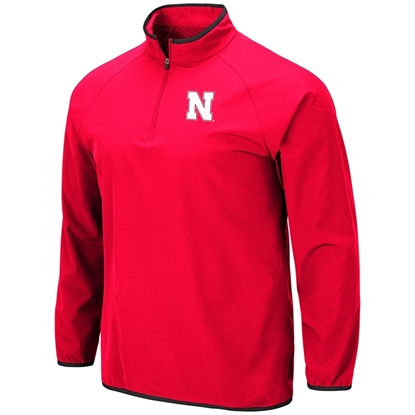 Picture of Nebraska Colosseum® Chalmers Quarter Zip Windshirt