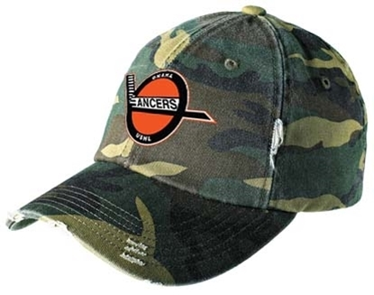 Picture of Retro Lancers Camo Distressed Adjustable Hat
