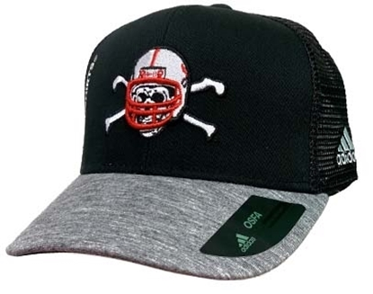 Picture of Nebraska Adidas® Blackshirt Mesh - Snapback