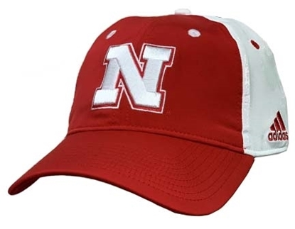 Picture of Nebraska Adidas® Coach Flex Hat