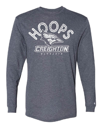 Picture of Creighton Hoops Youth Long Sleeve