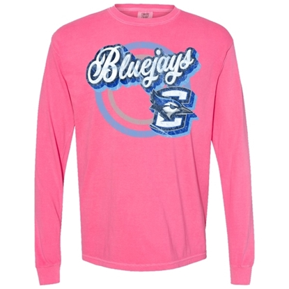 Picture of Creighton Soft Cotton Long Sleeve Shirt (CU-177)