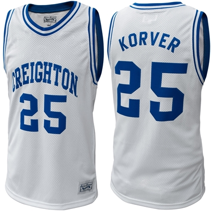 Picture of Creighton Kyle Korver #25 Throwback Basketball Jersey