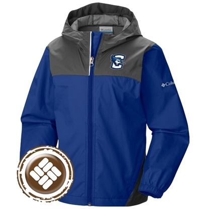 Picture of Creighton Columbia® Youth Glennaker Full Zip Rain Jacket