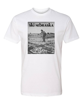 Picture of Ski Nebraska Vintage Poster T-shirt