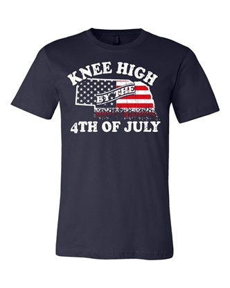 Picture of Knee High 4th of July Nebraska Shirt - Youth / Adult