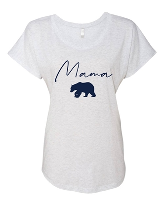 Picture of Mama Bear Ladies Dolman Tee