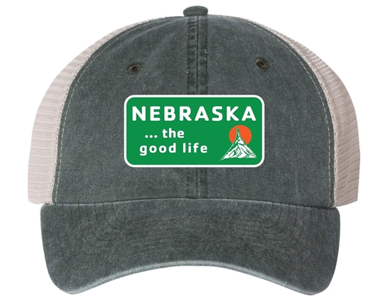 Picture of The Good Life Patch Pigment Dyed Trucker Cap
