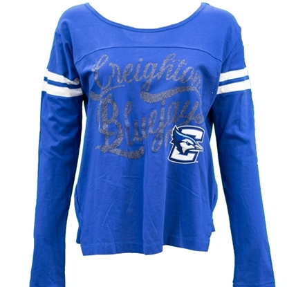 Picture of Creighton Ladies Touch Long Sleeve Shirt