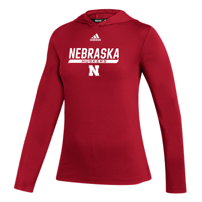 Picture of Nebraska Adidas® Ladies Under the Lights Long Sleeve Training Top