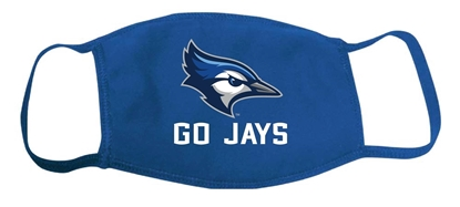 Picture of Creighton 2-Ply Go Jays Face Mask (CU-242)