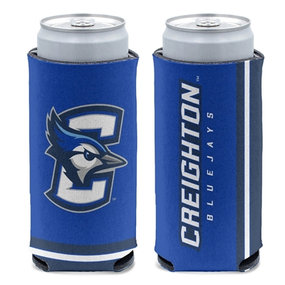 Picture of Creighton 12oz Slim Can Koozie