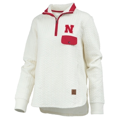 Picture of Nebraska Pressbox® Ladies Caribou 1/4 Jacket