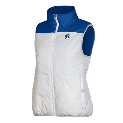 Picture of Creighton Under Armour® Women's SMU Puffer Vest