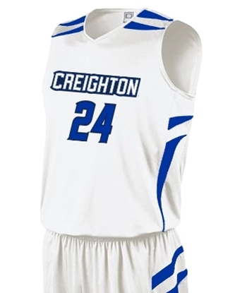 Picture of Creighton Prodigy #24 Youth Replica Basketball Jersey