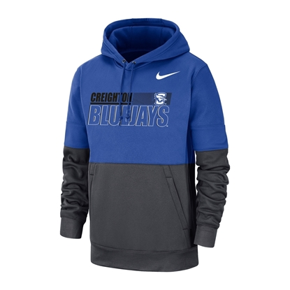 Picture of Creighton Nike® Therma PO Hooded Sweatshirt