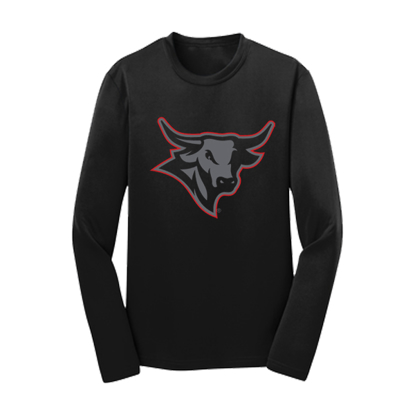 Picture of UNO Youth Glowing Bull Competitor Long Sleeve Shirt