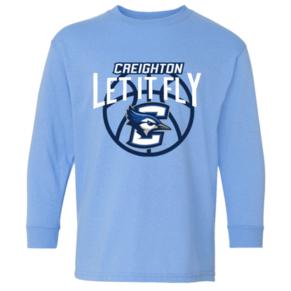 Picture of Creighton Youth Long Sleeve Shirt (CU-209)