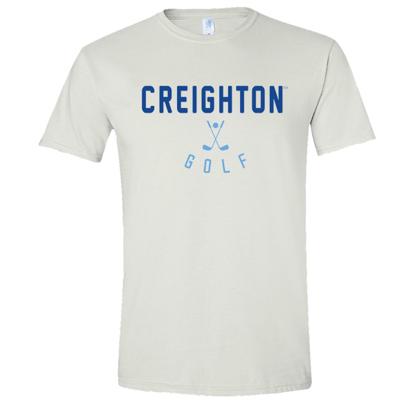 Picture of Creighton Golf Soft Cotton Short Sleeve Shirt  (CU-247)