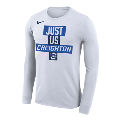 Picture of Creighton Nike® Just Us Performance Long Sleeve Shirt