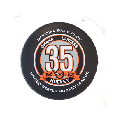 Picture of Lancers 35th Anniversary Official Game Puck